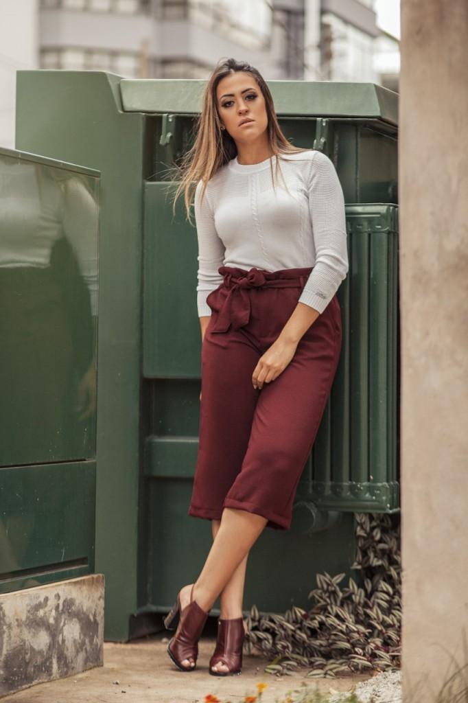 Blusa Feminina Modal