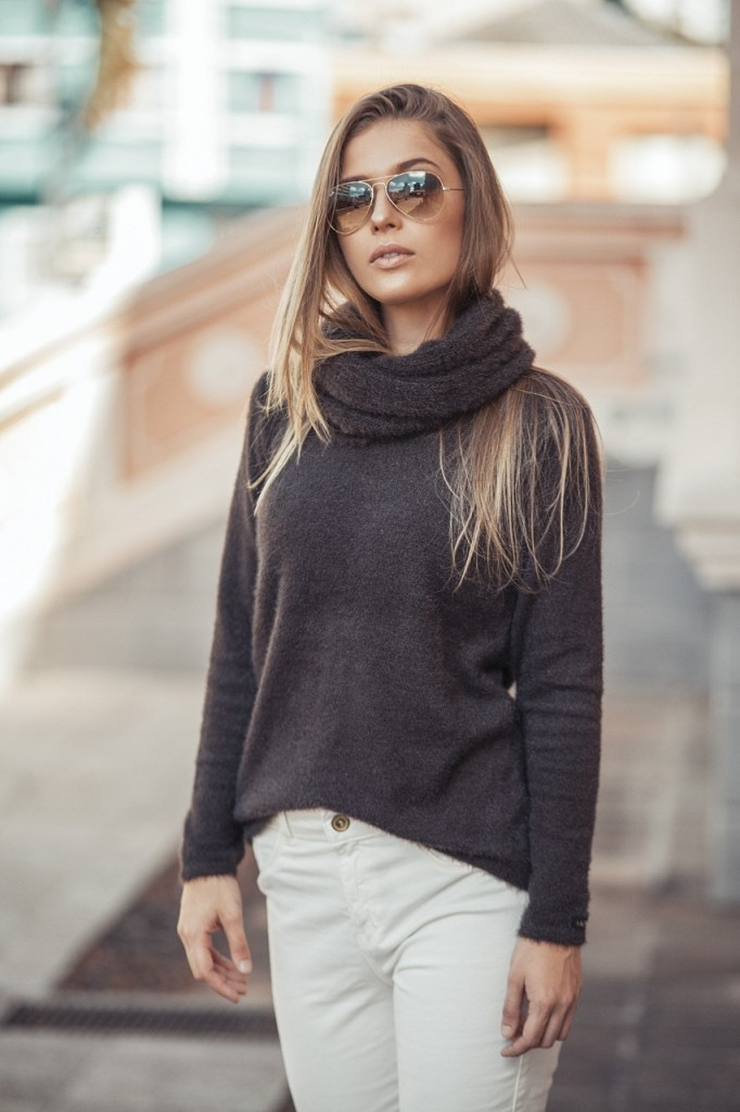 Blusa Feminina Mullet